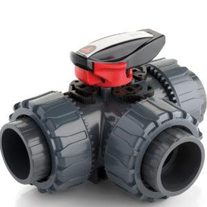 pvc-u-robinet-cu-bila-cu-3-cai-tkd-dual-block-dn10-dn50